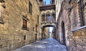 Barcelona Gothic quarter Spanish Market Report