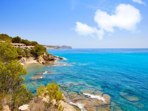 Costa Blanca beaches with Blue Flags