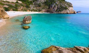 A beautiful Javea beach on the Costa Blanca