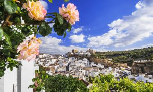 Setenil de las Bodegas in Cádiz province famous for its rock houses